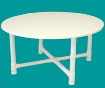 PVC 30inch Round table