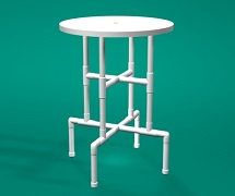 PVC 30inch Bar table