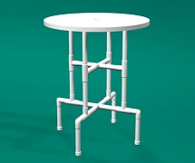 PVC 36inch bar table