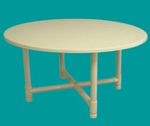PVC 42inch table